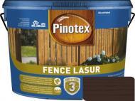 Деревозащитное средство Pinotex fence lazur полисандр мат 10 л