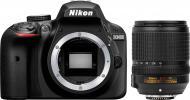 Фотоапарат Nikon D3400 AF-S 18-140mm VR Kit black