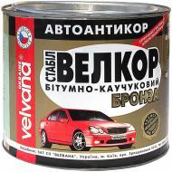 Мастика антикорозійна бітумно-каучукова VELVANA Велкор-Стабіл бронзовий 1,8 кг