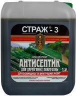 Антисептик STRAZH Страж-3 концентрат 1:9 зеленый 5 л