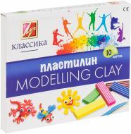 Пластилін Класика 7С304-08 10х200 гр