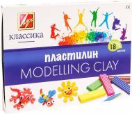 Пластилін Класика 18 кольорів 20С1330-08 Луч
