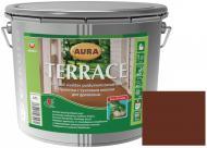 Масло для древесины Aura® Terrace Коричневый 2,7 л