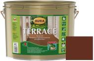 Масло для древесины Aura® Terrace Коричневый 9 л