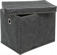 Короб складаний Vivendi 7108 Silver із кришкою 300x400x300 мм