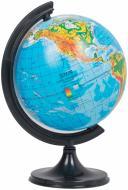 Глобус фізичний 110 мм Тетрада
