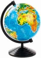 Глобус фізичний 160 мм Тетрада