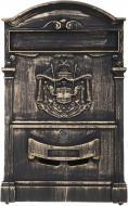 Почтовый ящик античная бронза