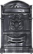 Почтовый ящик античное серебро