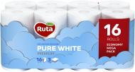 Туалетний папір Ruta Pure White тришаровий 16 шт.