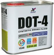 Гальмівна рідина XADO DOT-4 0,5л