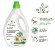 Гель для машинного та ручного прання ECO CONTROL універсальний з екстрактом бавовни 1,2 л