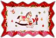 Блюдо Новорічна колекція 25,5 см 985-077 Lefard