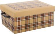 Ящик картонний Miss Space Клітинка 330x250x160 мм бежевий
