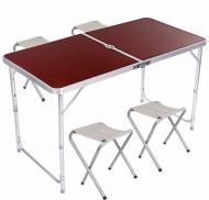Набор мебели для пикника DT4251 Вrown (300424BR)