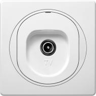 Розетка TV Aling-Conel Eon білий E612I.0