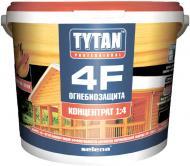 Огнебиозащита Tytan 4F 1:4 красный 5 кг