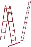 Драбина MASTER TOOL 8 сходинок зі столиком 79-1018