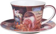 Чашка с блюдцем Ферма 220 мл 924-316 Lefard