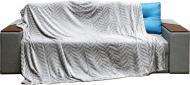 Плед Embossed 160x200 см сірий La Nuit