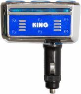 Розгалуджувач від гнізда прикурювача King Company KST-204