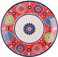 Тарілка обідня Самайя Марун Red 27 см Claytan Ceramics