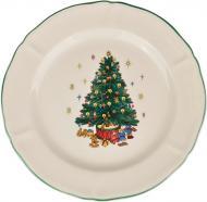 Тарілка підставна Різдвяна ялинка 26 см 910-130 Claytan Ceramics