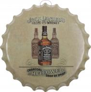 Декор настенный Крышка от бутылки жестяная Jack d40