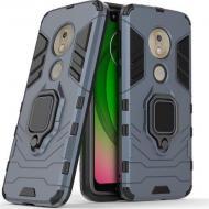 Чехол Ring Armor для Motorola Moto G7 Play Blue (arbc6924)