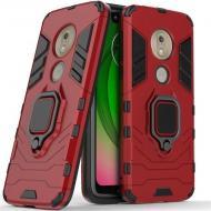 Чехол Ring Armor для Motorola Moto G7 Play Red (arbc6925)
