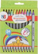Фломастери 12 кольорів Nota Bene