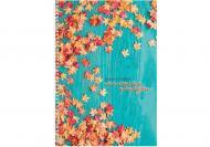 Книга для нотаток Малюнки природи: Листя А4 80 арк.O20330-31 Optima