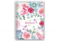 Блокнот Spring Mood: Pink Flowers А5 80 арк.E21952-04 Economix