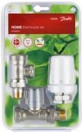 Радіаторний комплект термостатичних кранів Danfoss RTW /RA-FN/RLV-S, DN15 прямий RA-FN
