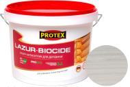 Лазурь-антисептик Protex 3 в 1 белый шелковистый мат 3 л