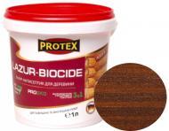 Лазурь-антисептик Protex 3 в 1 орех шелковистый мат 1 л