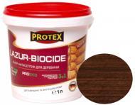 Лазурь-антисептик Protex 3 в 1 палисандр шелковистый мат 1 л