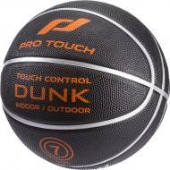 Баскетбольный мяч Pro Touch Dunk 177966-905050 р. 6 черный с оранжевым