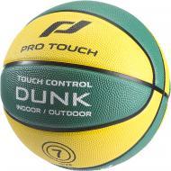 Баскетбольный мяч Pro Touch Dunk 177966-904743 р. 6 зеленый с желтым