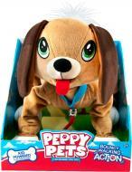 Іграшка м'яка інтерактивна Peppy Pets Весела прогулянка Басет 245277