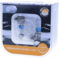 Лампа галогенна GENERAL ELECTRIC Megalight Ultra +150 (58520XNU) H7 PX26d 12 В 55 Вт 2 шт