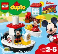 Конструктор LEGO Duplo Disney Катер Міккі 10881