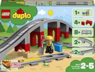 Конструктор LEGO DUPLO Залізничний міст і рейки 10872