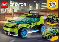 Конструктор LEGO Creator Гоночний автомобіль «Ракета» 31074