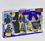 Игровой набор полиции Small Toys 34290 со светом и звуком Синий (2-75150)