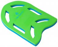 Доска для плавания TECNOPRO 289420-900545 KICKBOARD салатовый р. OS