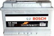 Акумулятор автомобільний Bosch S5 77А 12 B «+» праворуч