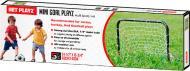 Футбольні ворота Mini Goal Playz ODS-09-R1 чорний із білим