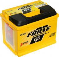 Акумулятор автомобільний Forse 65А 12 B «+» ліворуч