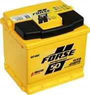 Акумулятор автомобільний Forse 6СТ Євро 50А 12 B «+» праворуч
